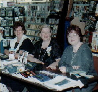 Constance Todd, Marilyn Grall, and Liz Delisi